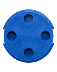Bin Tag HF ICODE SLIx 30 mm Blue No logo