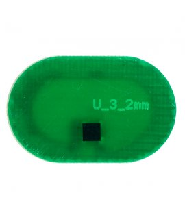 Coin PCB UHF Oval 19x12x0.9 mm M4E (US) 915MHz