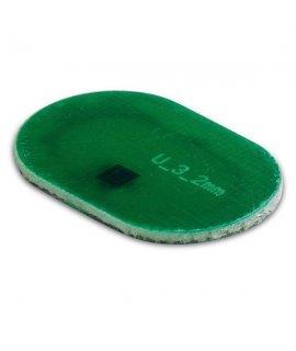 Coin PCB UHF Oval 19x12x0.9 mm M4E (EU) 869MHz