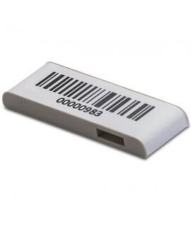TapMark UHF MR6 38X13X4.5 mm Gray 1D Barcode 860-960 MHz
