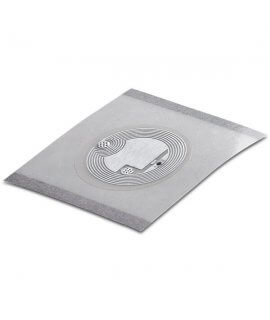 Wet Inlay PET clear 23 mm HF NTAG 213 RM