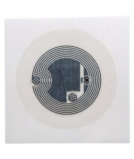 Wet Inlay PET clear 29 mm HF NTAG 213