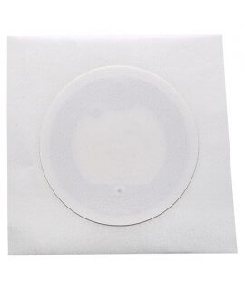 Label white paper 40 mm NFC NTAG 213