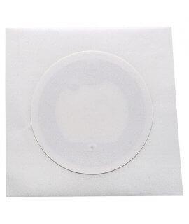 Label white paper 40 mm NFC NTAG 213