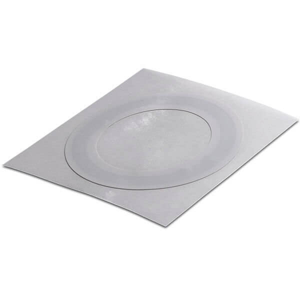 Label white paper ring 50x32.2 mm HF ICODE SLIX-S