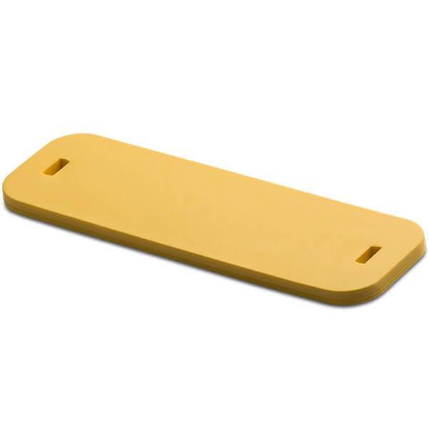 SlimFlex Tag HF ICODE SLIx 83x25x3 mm Yellow 6x2.5 mm slot