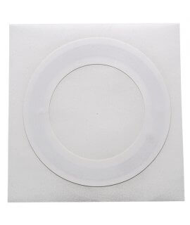 Label white paper ring 50x32.2 mm HF ICODE SLIX-S
