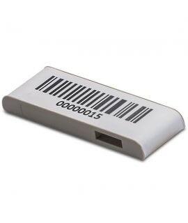 TapMark UHF MR6 38X13X4.5 mm STICKER Gray 1D Barcode 860-960 MHz
