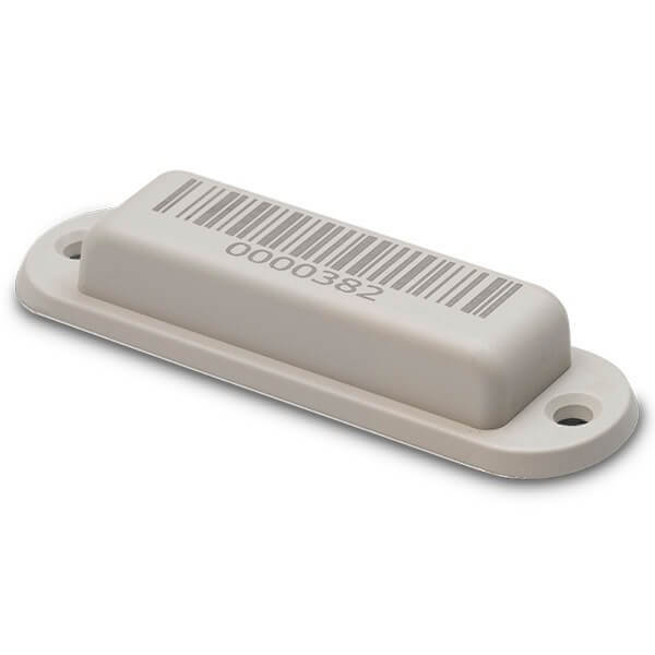 InLine Tag Ultra UHF M4QT Gray 1D Barcode 860-960 MHz