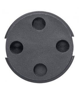 Bin Tag LF Unique 30 mm Black No logo