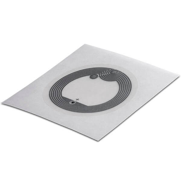 Wet Inlay PET clear 40 mm HF NTAG 213