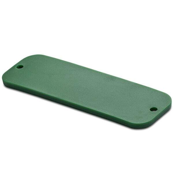 SlimFlex Tag UHF H3 77x25x3 mm green 3 mm holes 860-960 MHz