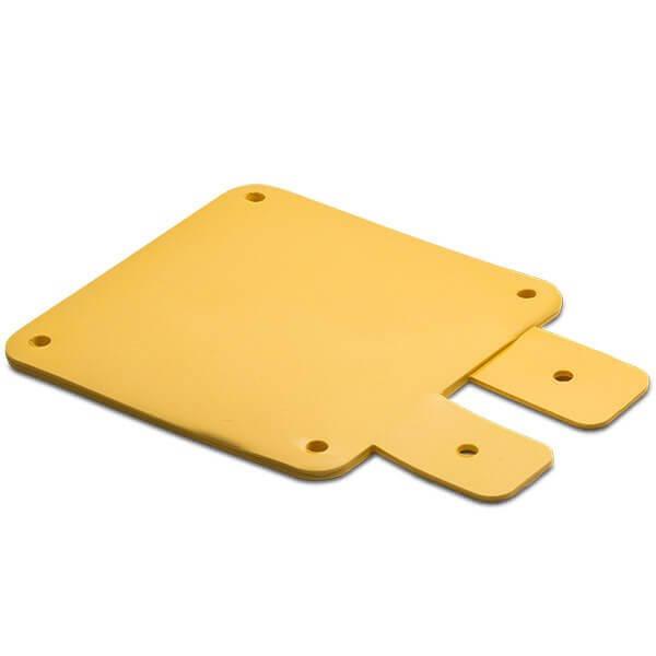 SlimFlex Tag UHF H3 Square Yellow 860-960 MHz